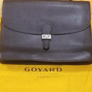 Goyard Vintage Chypres Briefcase Genuine